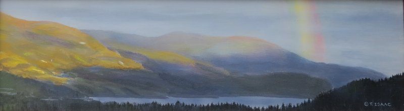 Rainbow over Skaha - Terry Isaac