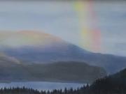 Rainbow over Skaha - Terry Isaac