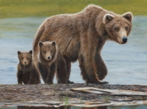 Family Outing, by Terry Isaac