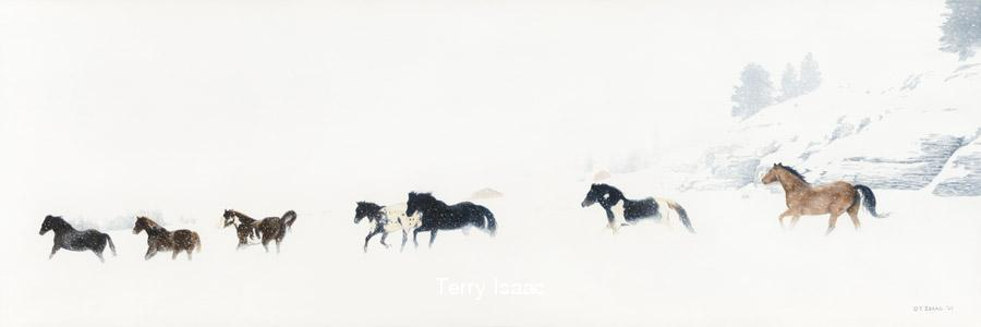 Winter Run - Terry Isaac