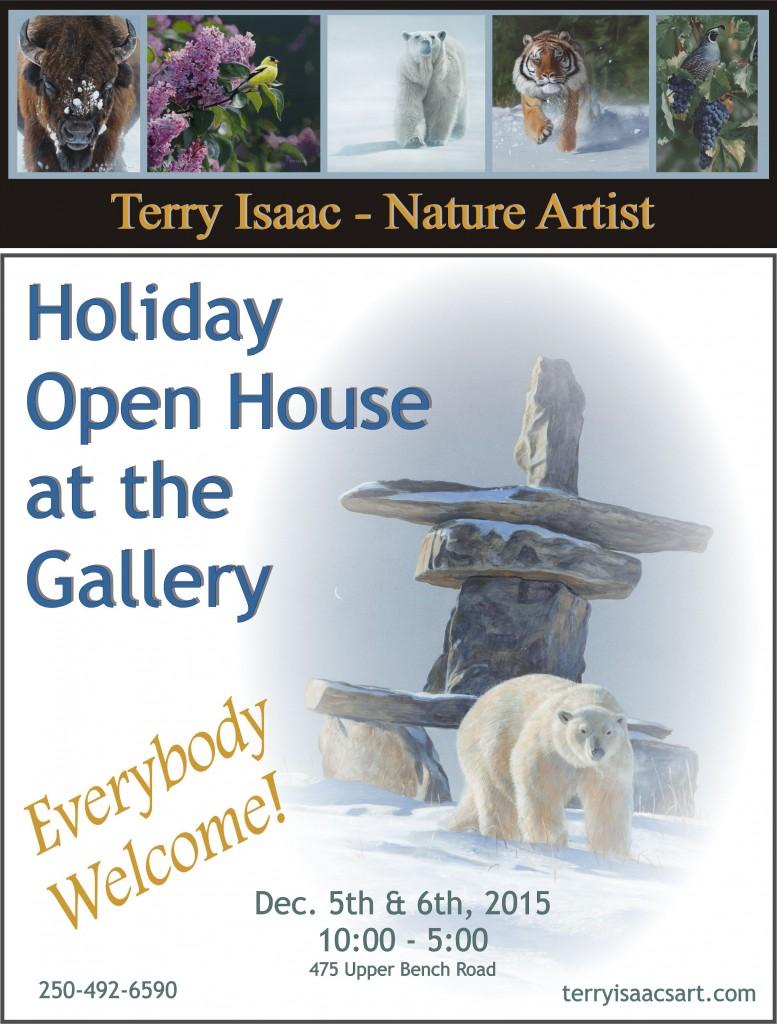 2015 Xmas Gallery Open House