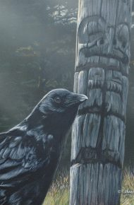 Raven and Totem