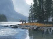 Spirit Island Moose - Terry Isaac