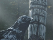 Raven and Totem - Terry Isaac