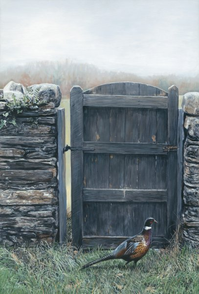 By The Gate by Terry Isaac